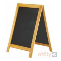 Yazılabilir kara tahta pano 70x100 cm